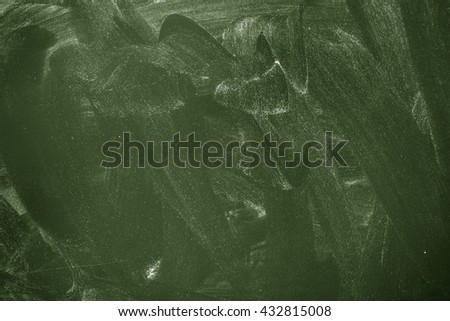 Green Dirty Chalkboard Background./Green Dirty Chalkboard Background. - stock photo