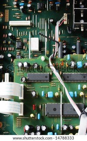 Green electronic Circuit board