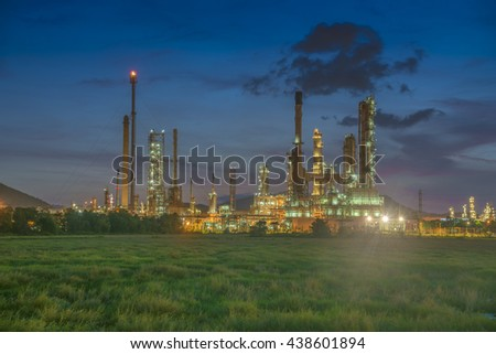 green energy petroleum - stock photo