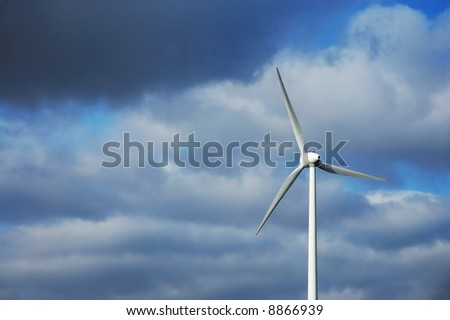 green energy with generated with wind will help to save the planet