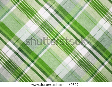 Green fabric - stock photo