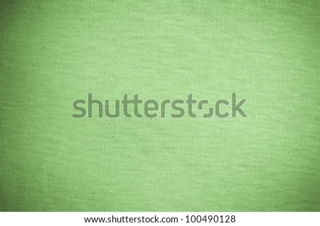 Green fabric for background usage - stock photo