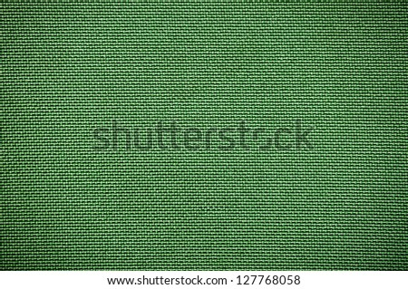 green  fabric texture suitable  for background - stock photo