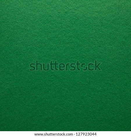 Green felt as background or texture. - stock photo