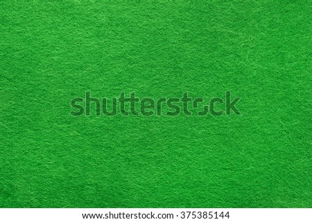 Green felt background based on natural texture - stock photo