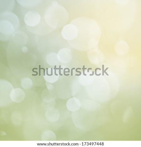 Green  Festive background with light beams