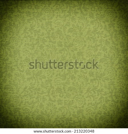 green floral paper background texture for your message  - stock photo
