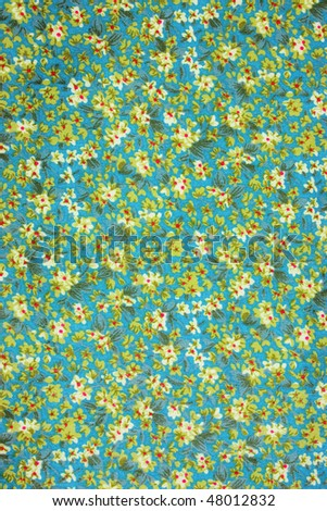 green floral  pattern - stock photo
