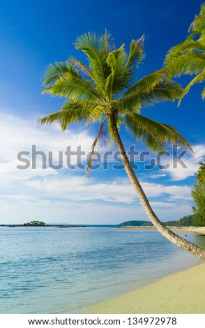Green Getaway Relaxation In Peace - stock photo