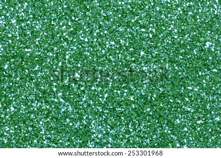 Green Glitter Background./ Green Glitter Background. - stock photo