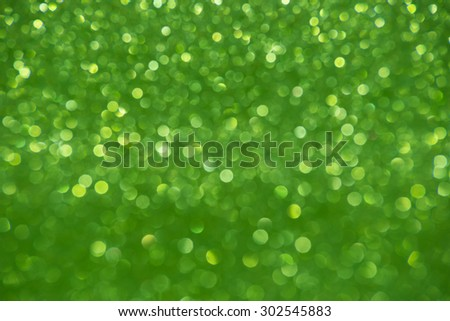 green glitter christmas abstract background