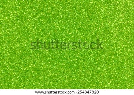 green glitter texture Christmas background - stock photo