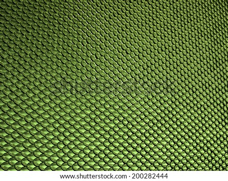 Green glossy  Scales texture or background. Large resolution