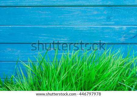 green grass shears, hand