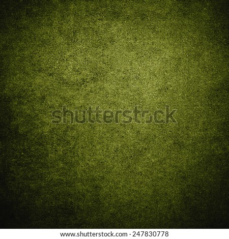 Green grunge background wall - stock photo