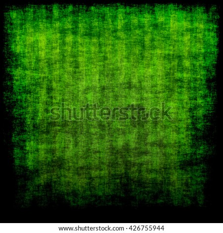 green grunge paper with stripes - stock photo