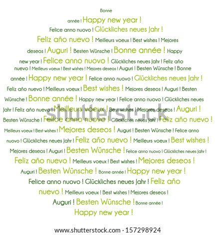 Languages books formation vector stock vector 23142094 for Green in different languages