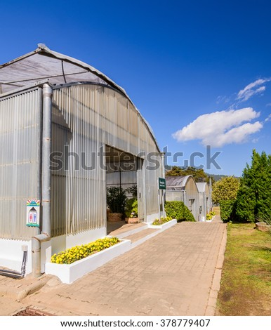 Green house , Nursery house in farm.