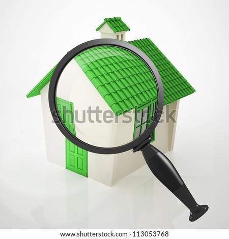 green house zoom - stock photo