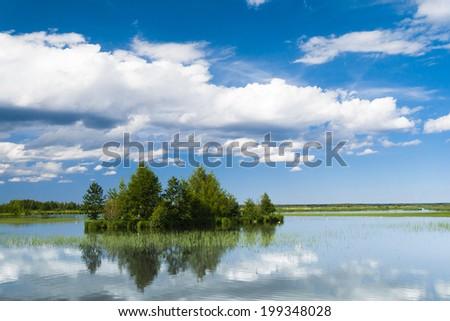 Green Island Pristine Nature  - stock photo