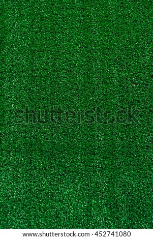 Green lawn for background, Green grass background texture with grunge lighting and lots of copy space. Perfect for sport designs - stock photo