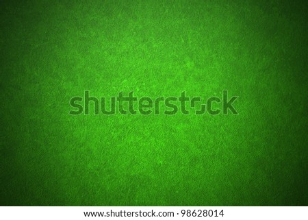 Green leather texture. Close up. - stock photo