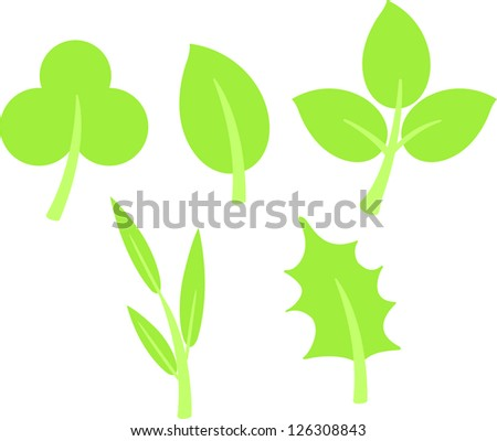 green leaves . jpg (EPS vector version id 126059312,format also available in my portfolio)