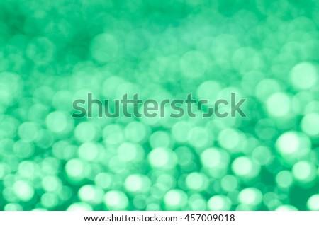 green light defocused background texture - stock photo