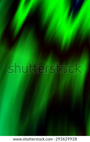 Green lightning abstract energy background - stock photo