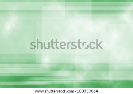 Green Line background of abstract - stock photo