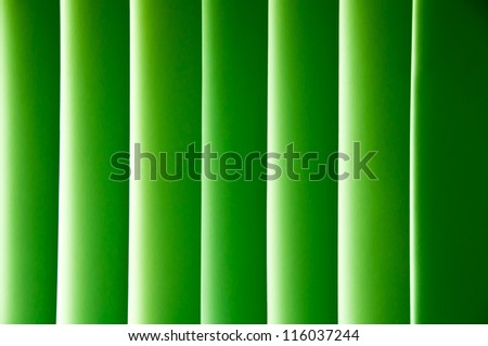 Green lines with gradient light