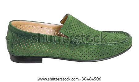 green man shoe
