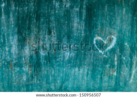 Green metal blackboard surface texture background