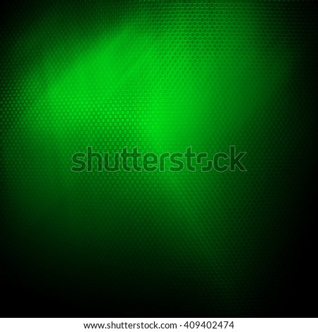 green metal mesh background - stock photo