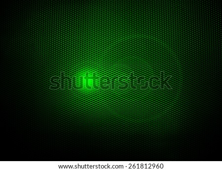 green metal mesh with light background - stock photo