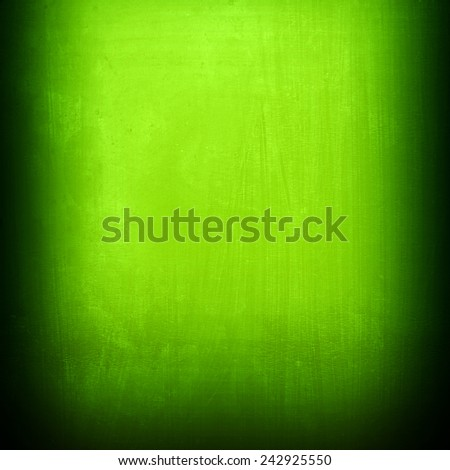 green metal plate  - stock photo
