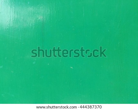 Green metal plate texture background