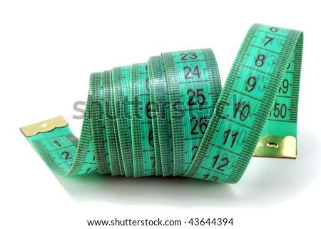 green meter - stock photo