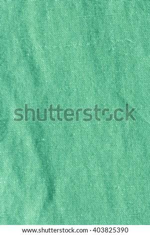 Green Mint Fabric Texture./ Green Mint Fabric Texture - stock photo