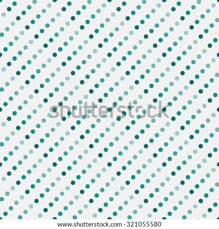 Green Multicolored and White Polka Dot Abstract Design Tile Pattern Repeat Background that is seamless and repeats - stock photo