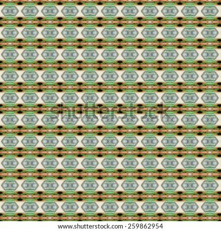 green native fabric of  abstract background designs from glass on table for art and  - stock photo
