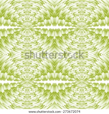 Green natural abstract swirl background pattern - stock photo
