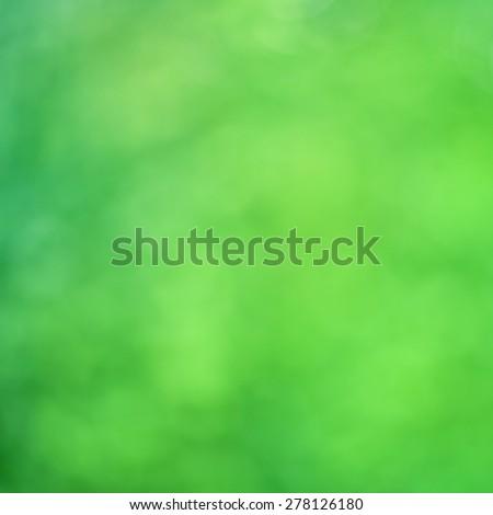 Green natural background. vintage color filter effect. - stock photo