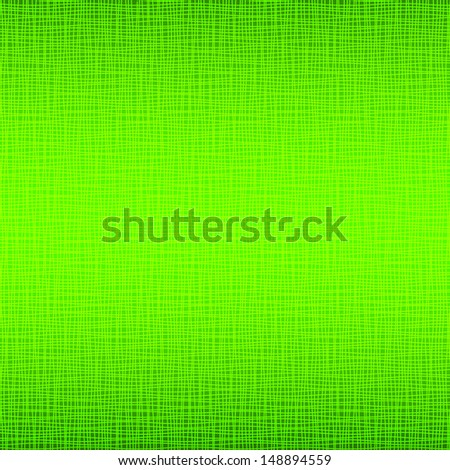 Green Natural Fabric Texture Background Raster Illustration
