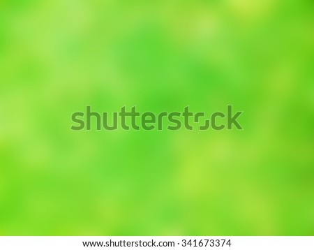 Green nature blur background and wallpaper - stock photo