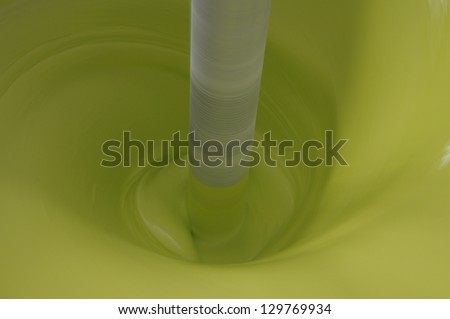 Green Paint - stock photo