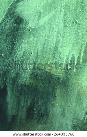 green paint background texture - stock photo