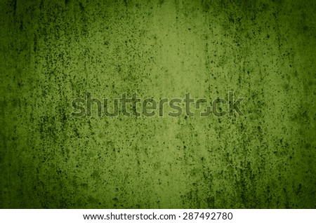 Green painted background or texture - stock photo