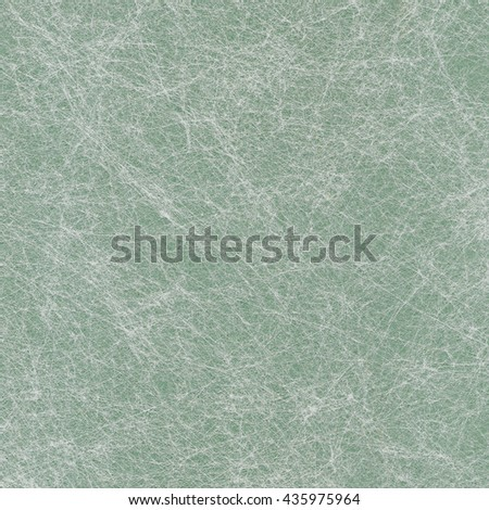 Green paper background with white pattern - stock photo