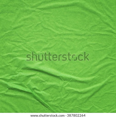Green paper texture background  - stock photo